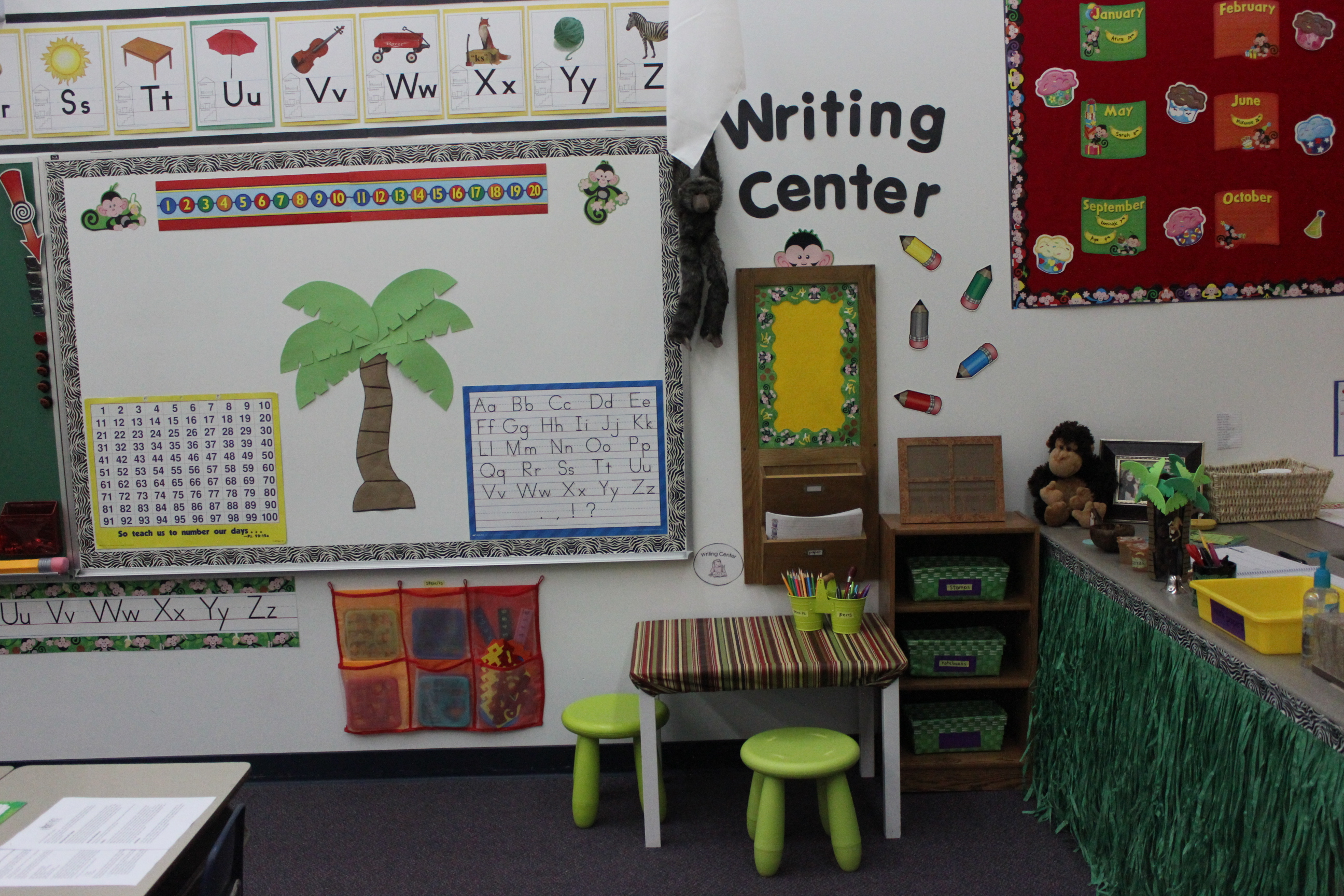 Classroom Writing Ideas ~ Prek classroom on the sunny side