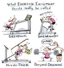 exercise cartoon